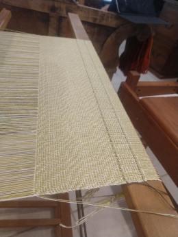 Last woven piece